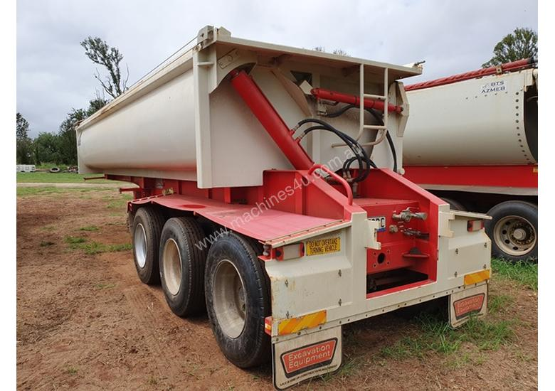 ALLROADS ROCKWHEELER 2013 TRI AXLE DOOR SIDE TIPPER