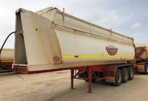 2005 CUSTOM QUIP CQP-TRI470 TIPPER TRAILER