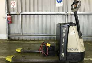 Electric Forklift Walkie Pallet WP Series 2008