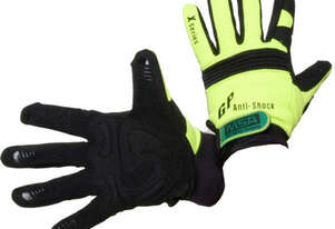 MSA Hi Viz Mechanics Anti-Vibration Gloves Small