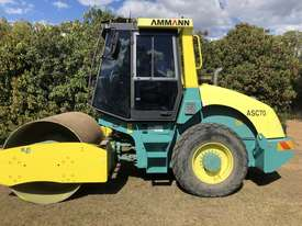 ASC 70 AMMANN 7 Tonne Smooth Drum Roller Powered by 99Hp Turbo Cummins - picture0' - Click to enlarge