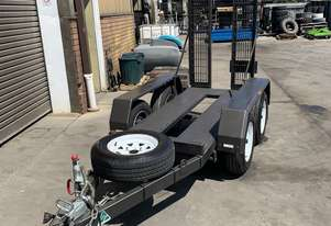 Used Scissor 19' Scissor lift Trailer