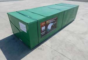 LOT # 0190 Single Trussed Container Shelter