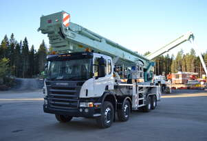 Bronto Skylift S70XDT 70m truck mounted EWP cherry picker