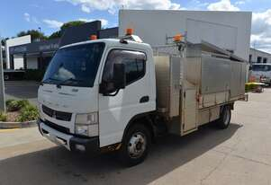 2012 MITSUBISHI FUSO CANTER 815 - Service Trucks - Tray Truck - Tray Top Drop Sides
