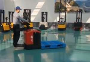 New 2ton Electric Powered Pedestrian Pallet Jacks
