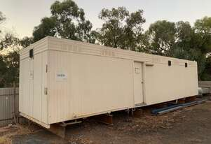 Atco 40ft   Ablution Block