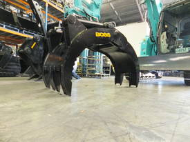 BOSS 13-40 TONNE HYDRAULIC GRAB
