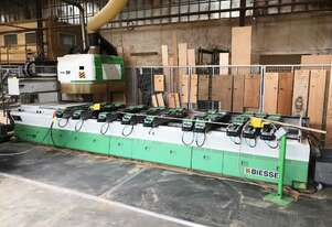 2000 BIESSE ROVER 30L2 FLAT BED ROUTER WITH CONTROLLER. TOOLING AND ACCESSORIES. SERIAL 04442.
