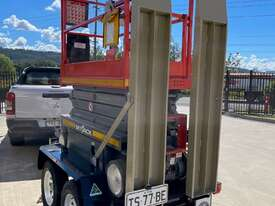 19ft Electric Scissor Lift & New Scissor Lift Trailer Package - picture1' - Click to enlarge