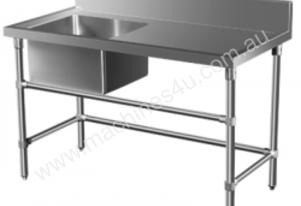 Brayco SS-L Stainless Steel Single Bowl Sink (700m