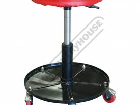 RSP-500 Pneumatic Roller Seat Ø300mm Round Padded