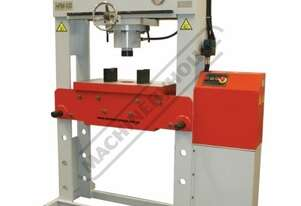 HPM-100T Industrial Motorised Hydraulic Press - 100 Tonne 10hp 415V Motor, 350mm Ram Stroke & 900mm
