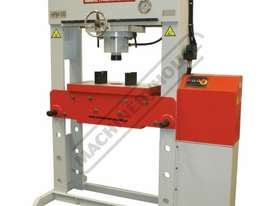 HPM-100T Industrial Hydraulic Press 100 Tonne Sliding Cylinder Ram - picture0' - Click to enlarge