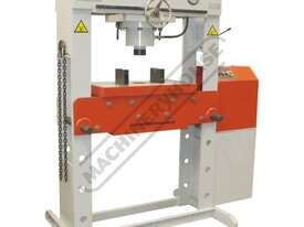 HPM-100T Industrial Hydraulic Press 100 Tonne Sliding Cylinder Ram - picture3' - Click to enlarge