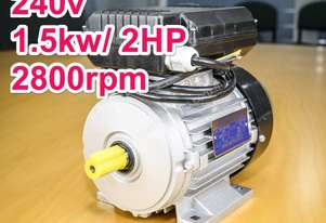 1.5kw/2HP 2800rpm single-phase electric motor