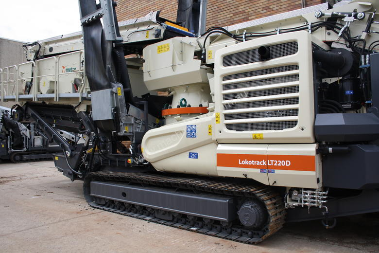 New metso LT220D GP Cone Crusher in South Granville, NSW