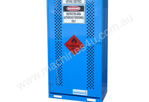 Single Sided Access Gas Store Cabinet