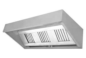 F E D CHOOD1200 - Canopy range hood