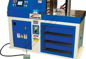 HBM-75 Hydraulic NC Horizontal Bender 75 Tonne Force  Programmable Touch Screen Control with 1016mm
