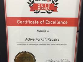 Varying Brands Forklifts Hire Starting $100/pw - picture2' - Click to enlarge
