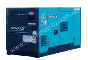 Airman 10.5kva Diesel Backup Power Generator with 95L Tank