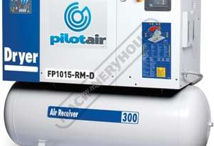 FP1015-RM-D Rotary Screw Air Compressor Includes Integrated Air Dryer 1902L/Min. 67CFM