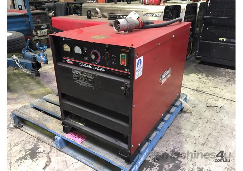 Lincoln Dc600 Multiprocess Welder