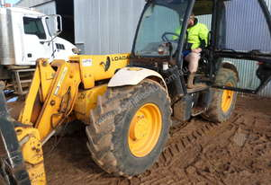 JCB 530-70  FORKLIFT TELEHANDLER COMES WITH PALLET FORKS / HAY FORKS AND BUCKET