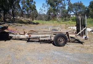 3 ton galvenised plant trailer , 2008 model