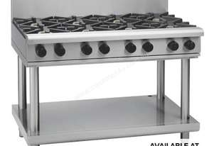 Waldorf 800 Series RNL8803G-LS - 1200mm Gas Cooktop Low Back Version `` Leg Stand