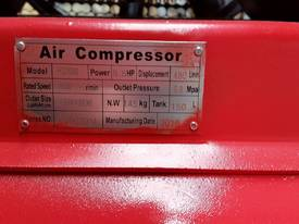 NEW AIR COMPRESSOR 5.5Hp (4Kw) 150 Ltr Tank *ON SALE* - picture10' - Click to enlarge