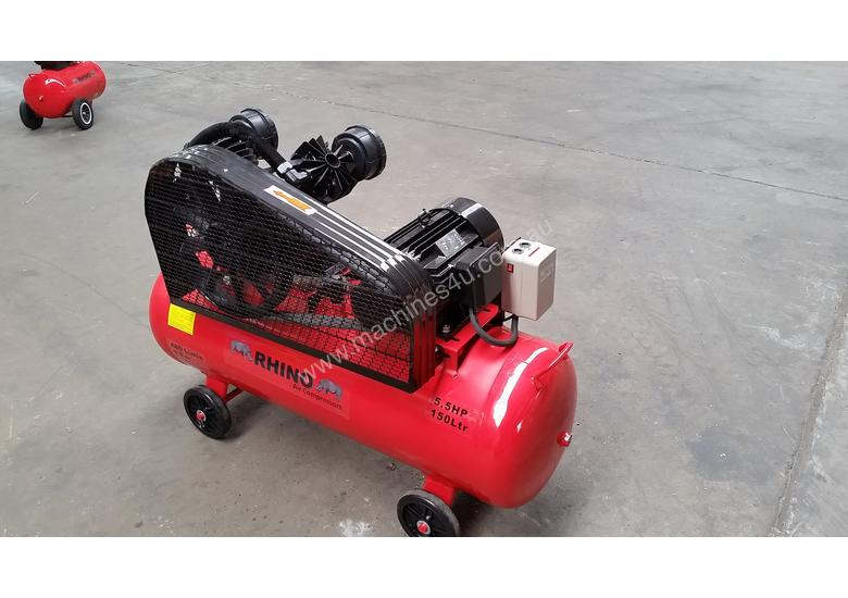 NEW AIR COMPRESSOR 5.5Hp (4Kw) 150 Ltr Tank *ON SALE*
