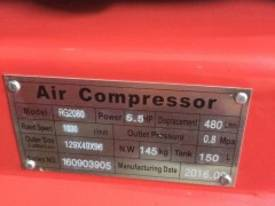NEW AIR COMPRESSOR 5.5Hp (4Kw) 150 Ltr Tank *ON SALE* - picture4' - Click to enlarge