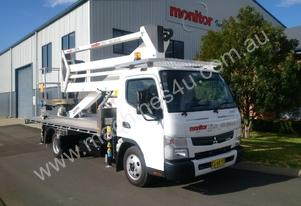 2016 Model GSR E209PX Truck Mounted Boom Lift EWP mounted on 2x4 Canter 515