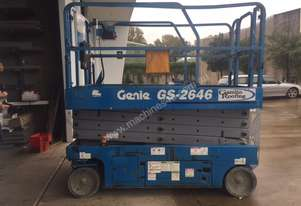 Genie GS 2646 Electric Scissor Lift
