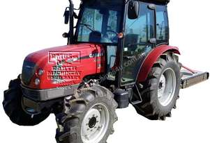 Case 60Hp 4WD Tractor and Slasher, Call EMUS