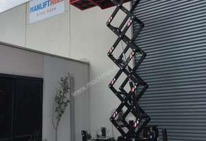Athena HE track mounted rough terrain scissor lift