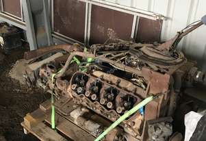 Cat V636/3208 engine+ roadranger gearbox complete