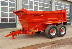 Barford D16 16 Ton Twin Axle Dump Trailer