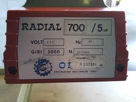 Omga Radial 700 Radial Arm Saw - picture2' - Click to enlarge