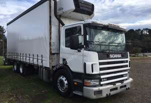 1998 SCANIA 94D 260 6X2 REFRIGERATED TAUT-LINER