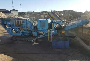 TEREX PEGSON 428 TRACKPACTOR MOBILE IMPACT CRUSHER