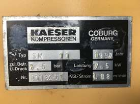 Used Kaeser Sm11screw compressor for sale - picture4' - Click to enlarge