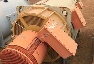 600 kw 800 hp 6 pole 3300 v Slip Ring Electric Motor