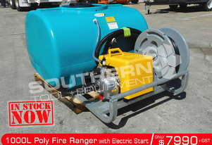1000L Poly Fire Ranger Fire Fighting Tank Electric Start