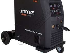COMPACT 350K INVERTER Multi-Function Welder-MIG-TIG-MMA 10-350 Amps #KUMJR350K-SG - picture0' - Click to enlarge