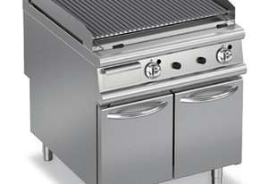 Baron 9GLV/G800 Lava Rock Gas Barbeque with Cabinet