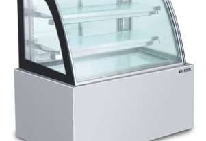 Semak CS1200-SS-3 Confectionery Showcase 1200 Curved Stainless