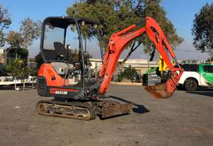 KUBOTA KX41-3V 1.6T MINI EXCAVATOR LOW HOUR S/N -809